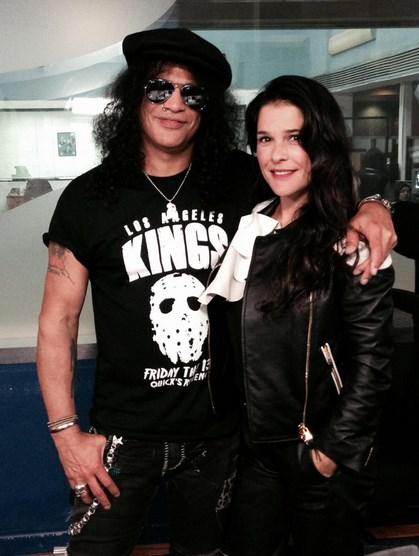 Slash et moi