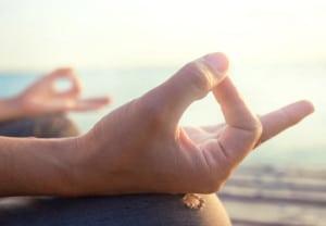 mind healty lifestyle hand gesture