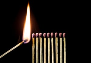 Maneras de avivar la llama