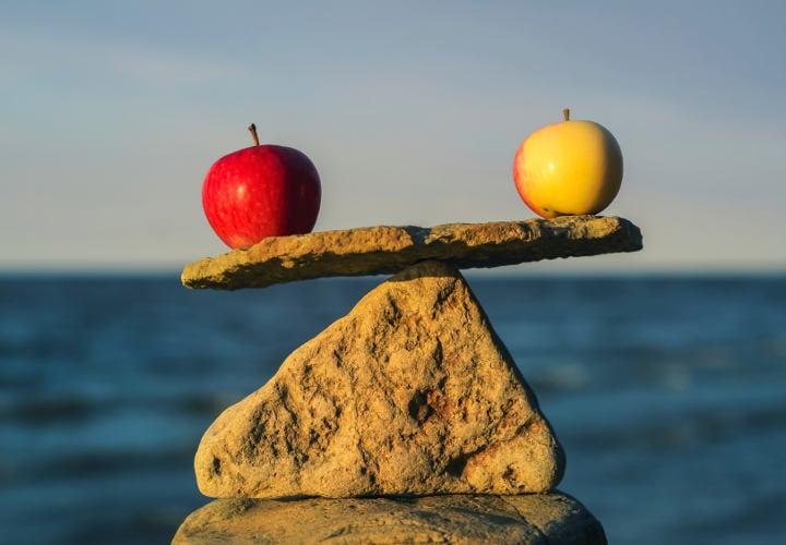 mantente en equilibrio