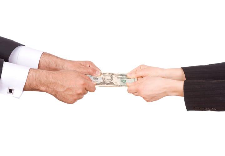 peleas por dinero