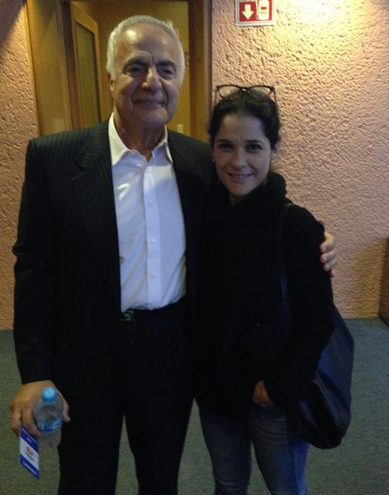 Martha Debayle y el doctor Murad