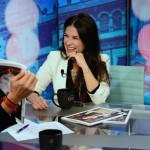 Martha con Cala en CNN