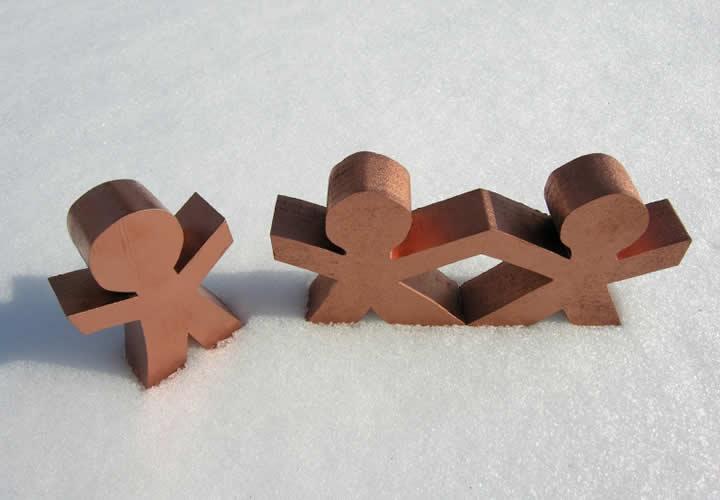 Los triángulos amorosos