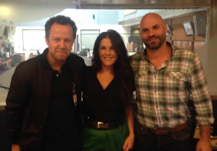 Vik, Juan et moi