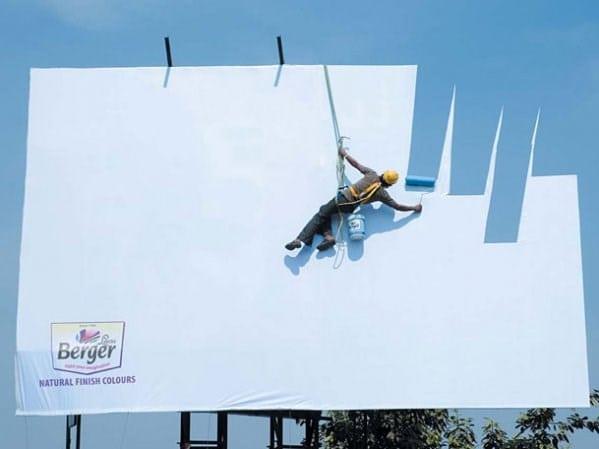 10 anuncios espectaculares mas creativos pintura azul cielo