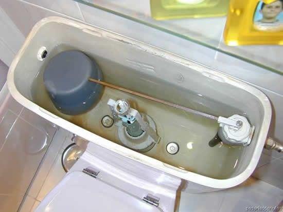 Flotador del baño