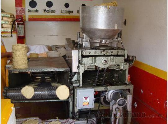 Máquina tortillera