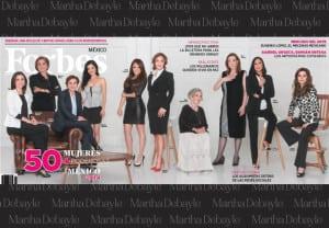Martha Debayle repite como una de las 50 mujeres más poderosas
