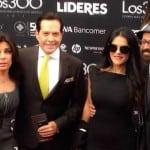 Ana María Lomelí, Juan José Origel, Martha Debayle y Oscar Román