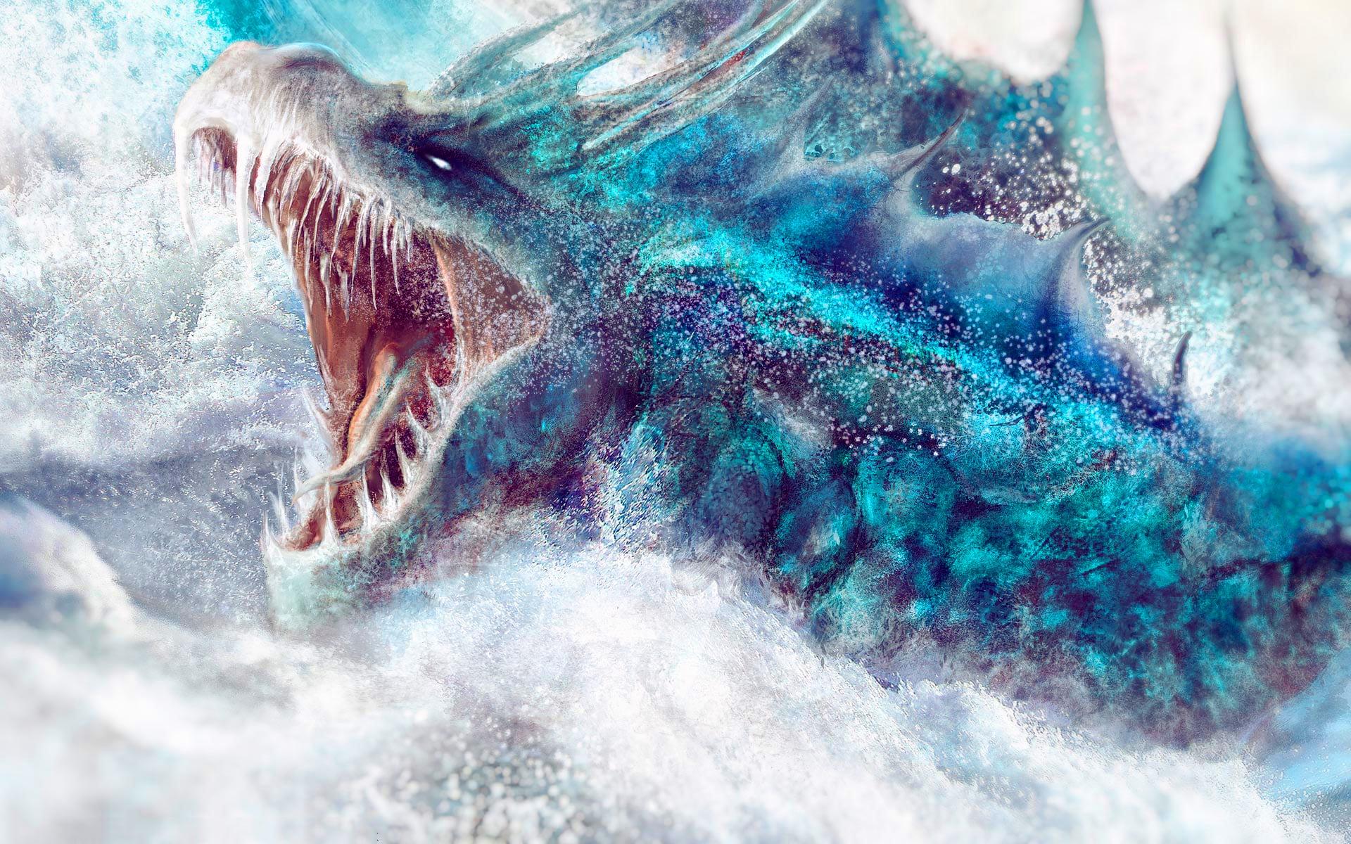 Moustro marino real
