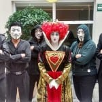 Anonymous y la reina de corazones
