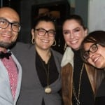Eduardo Iniesta, Alessia Di Bari, Adriana Barraza y Luz Pioquinto