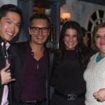 Keiji Yoshiki , Sergio Sepúlveda, Martha Debayle y Paloma De La Torre