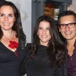 Adriana Esteva, Martha Debayle y Sergio Sepúlveda