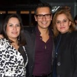 Dulce Martínez, Sergio Sepúlveda y Marisa Pensado