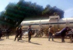 Estalla tanque en Cuautitlán Izcallí