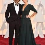 Alejandro González Iñárritu y esposa
