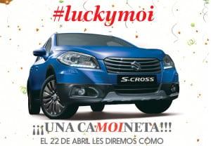 #LuckyMoi