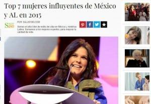 Top 7 mujeres influyentes de México y AL en 2015