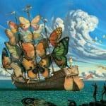 Barco de Mariposas
