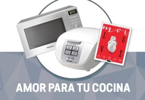 Microondas y arrocera Panasonic