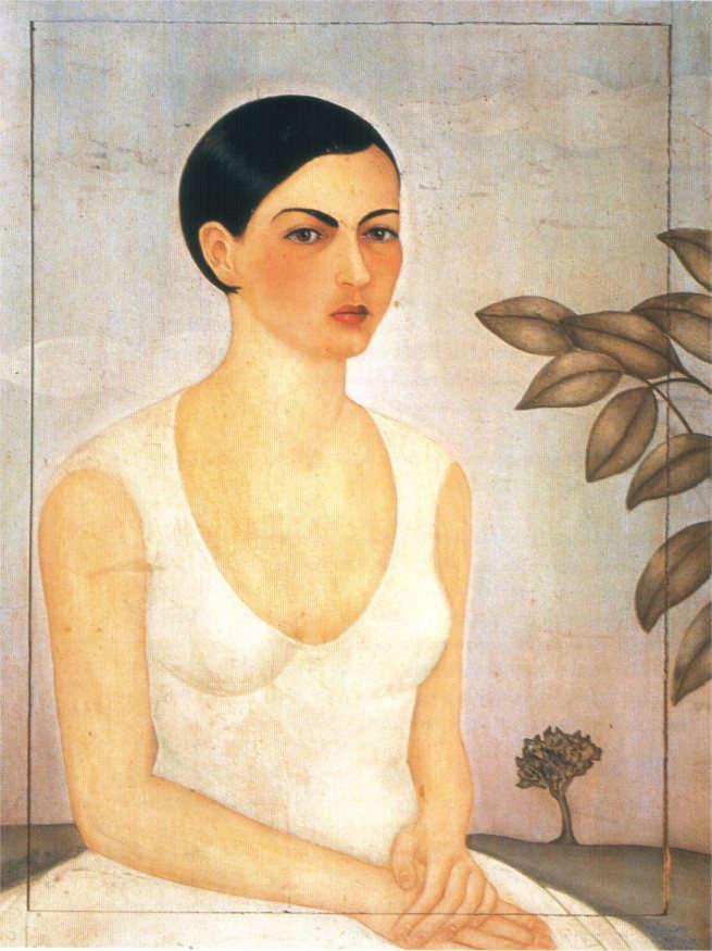 Imagen 5- Retrato de Cristina, Mi hermana 1928
