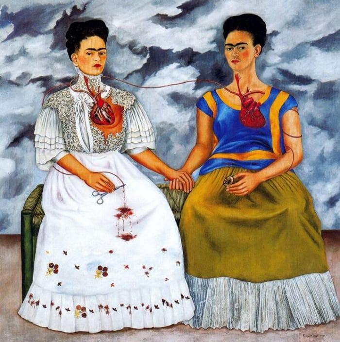 Imagen 9- Las dos Fridas 1939