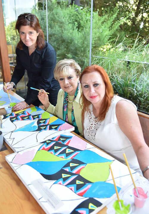 Luby Springall, Mónica y Raquel Edwabne
