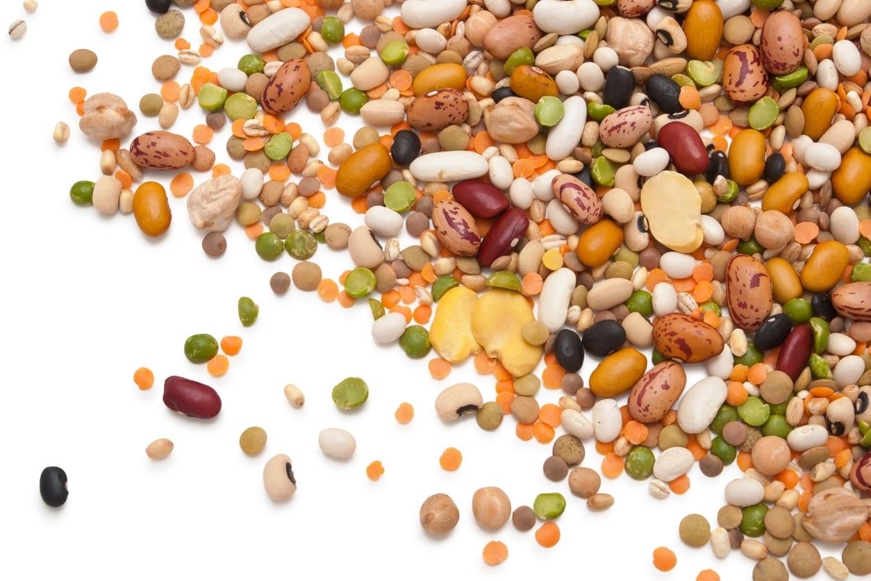 Son alimentos ricos en fibra que muchas veces son difíciles de digerir.