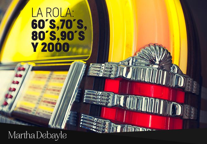 La-rola--60´s,70´s,80´s,90´s-y-2000