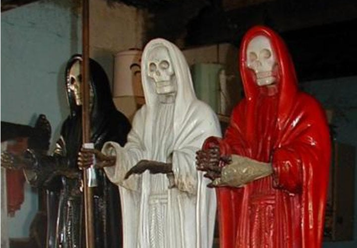 La Santa Muerte Martha Debayle