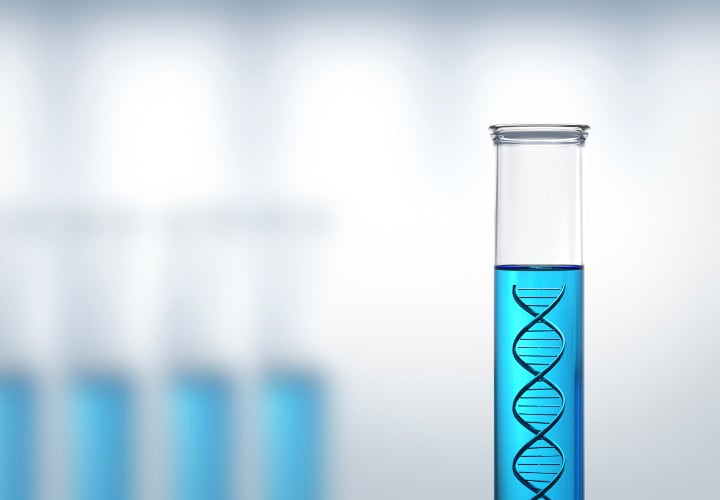 Conceptual - DNA research or testing in a laboratory