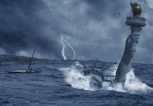 Nuestras Películas de Desastres Naturales 2012 impacto profundo el día después de mañana sharknado