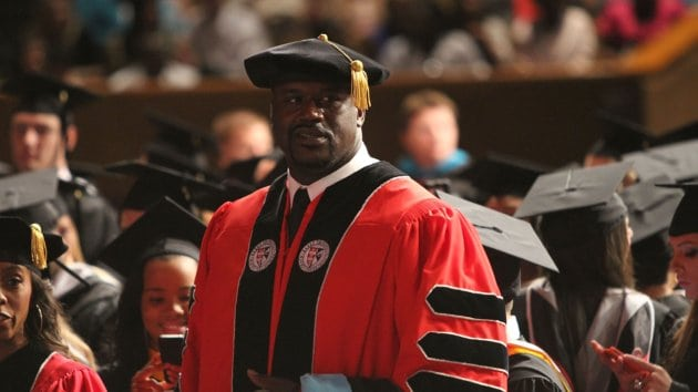 Shaquille O'Neal Receives Doctoral Degree From Barry University