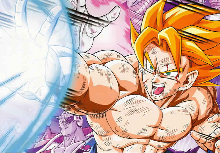 top 6 de caricaturas karatecas goku dragon ball