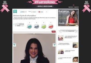 #FuerzaRosa