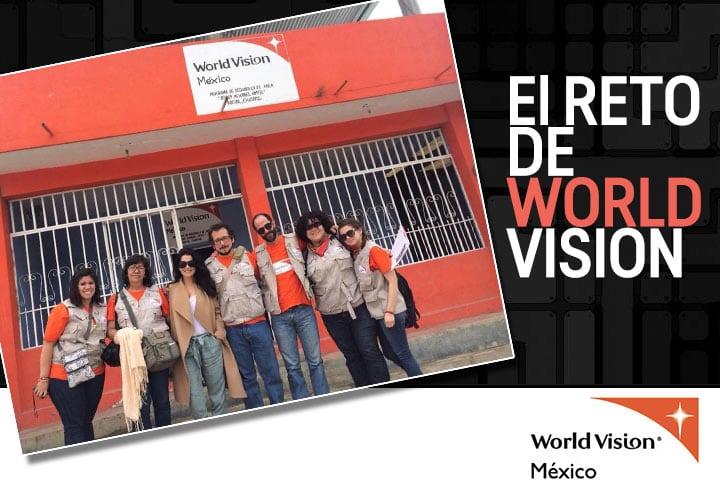 Martha en el reto World Vision