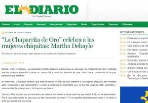 """El diario: """"La Chaparrita de Oro"""" celebra a las mujeres chiquitas"""