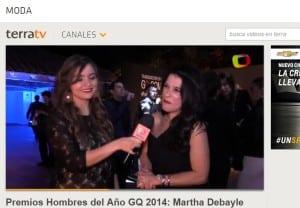 Premios Hombres del Año GQ 2014: Martha Debayle