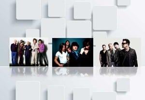 ¿Cuáles son las bandas de rock con boletos más vendidos?