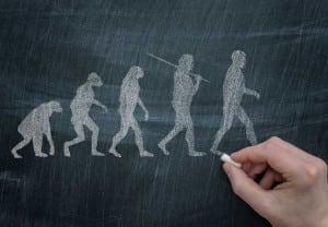 Una Australopithecus en tacones