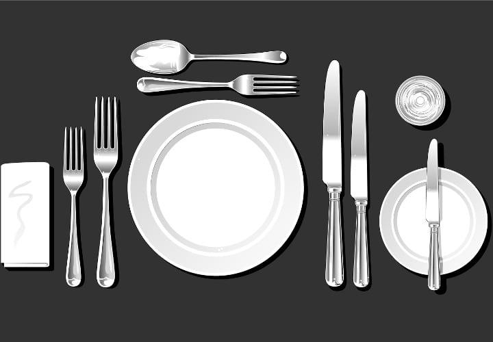 Protocolo en la mesa martha debayle for Protocolo cubiertos mesa