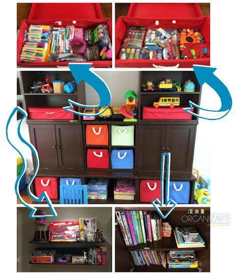 Organiza el cuarto de juegos de tus hijos - Martha Debayle