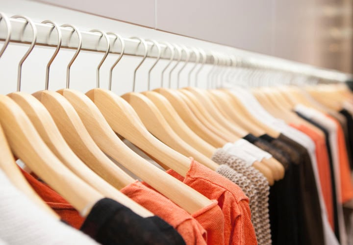 Women clothes on the hanger