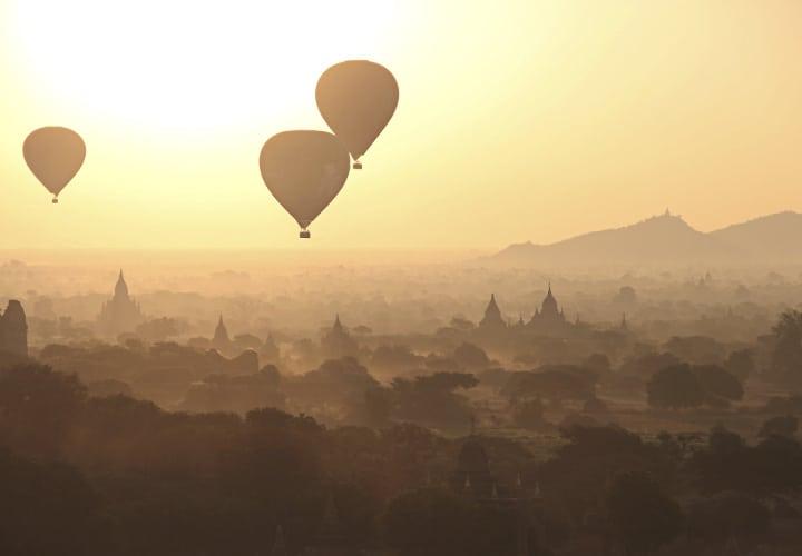 Globo Bagán Myanma