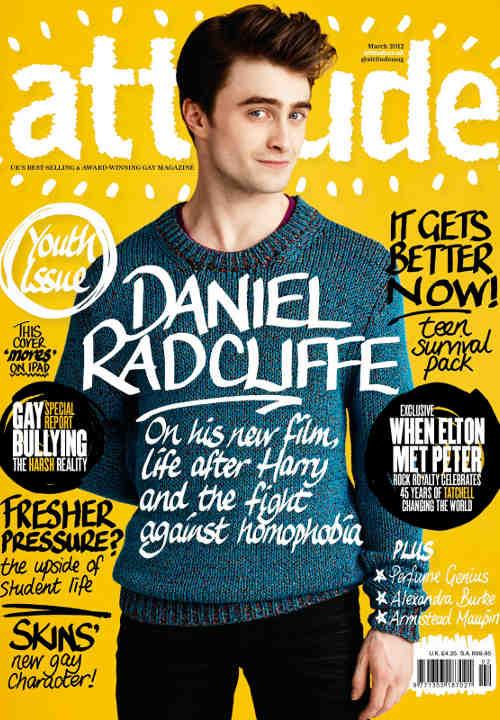 Daniel Radcliffe attitude magazine