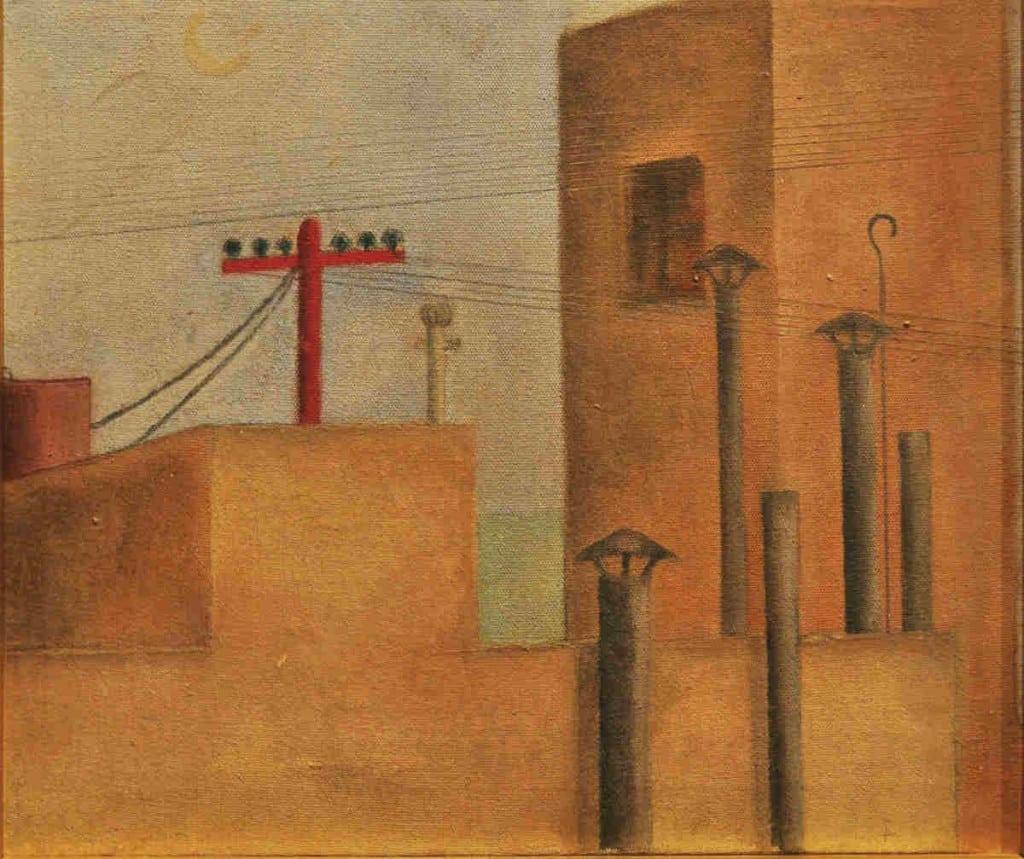 Imagen 1- Paisaje Urbano (1925)