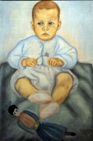 Imagen 6-retrato de Isolda su sobrina 1929