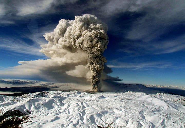 La erupción volcánica del Cordón Puyehue